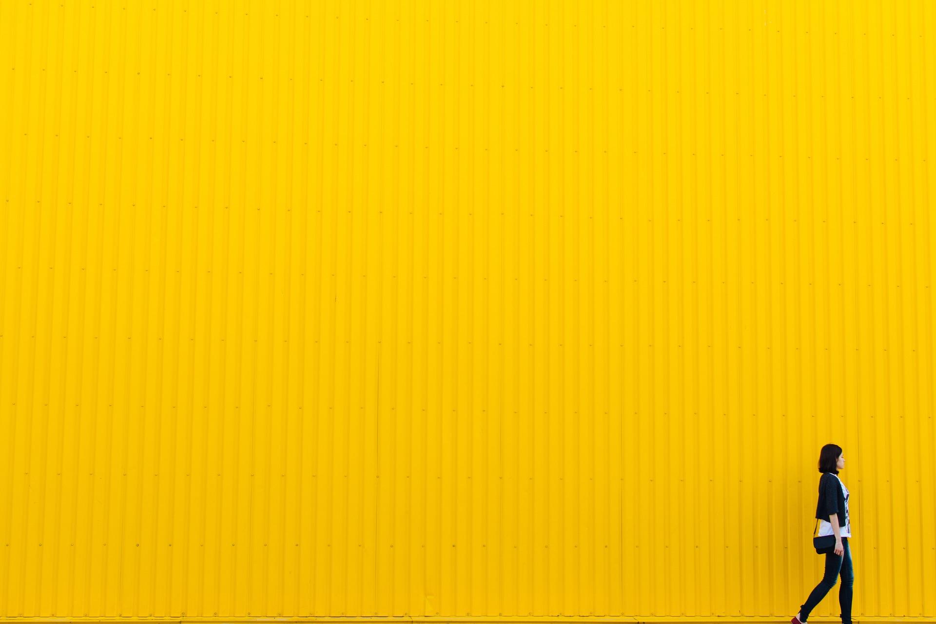 colori nella comunicazione - giallo